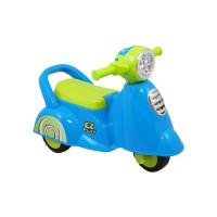 Detské odrážadlo so zvukom Baby Mix Scooter blue