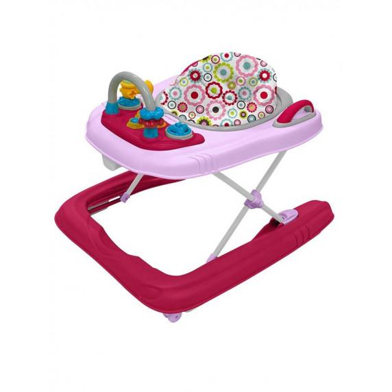 Detské chodítko Baby Mix 2v1 pink