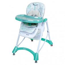 Baby Mix jedálenská stolička - mäta Preview