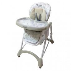 Baby Mix jedálenská stolička - béžová Preview