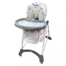 Baby Mix jedálenská stolička - sivá Preview
