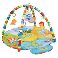 BABY MIX hracia deka s hracím modulom Safari