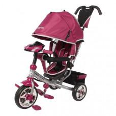 Baby Mix Lux Trike detská trojkolka so svetlami - ružová Preview