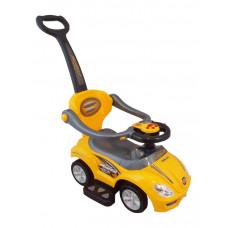 Detské hrajúce jazdítko 3v1 Baby Mix - žlté Preview