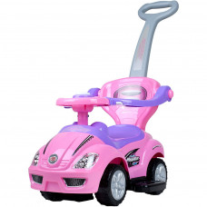 Detské odrážadlo 3v1 Bayo Mega Car - ružové Preview