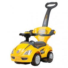 Detské odrážadlo 3v1 Bayo Mega Car - žlté Preview