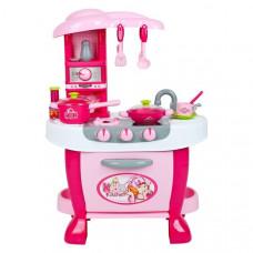Veľká detská kuchynka s dotykovým senzorom Bayo + príslušenstvo Preview