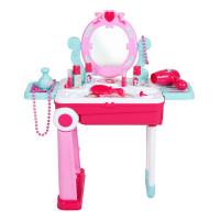 Detský toaletný stolík v kufríku 2v1 Bayo