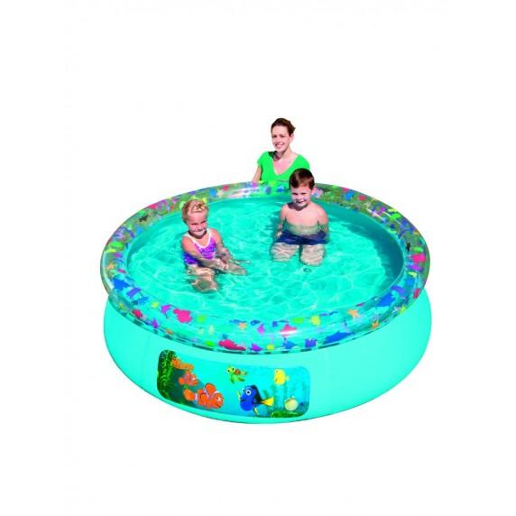 BESTWAY Detský bazén s pevnou stenou Nemo
