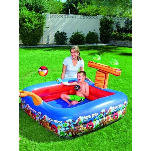 BESTWAY Detský bazén s ihriskom Angry Birds