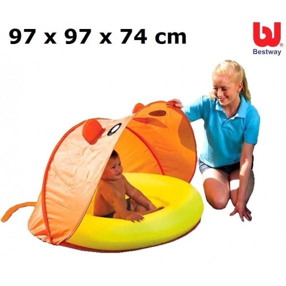 Bazén BESTWAY 97 x 97 x 74 cm (51110) so strieškou