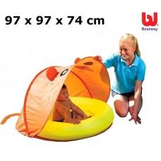 Bazén BESTWAY 97 x 97 x 74 cm (51110) so strieškou Preview