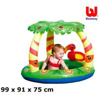 Bazén Bestway 52179 Džungľa so strieškou 99x91x71 cm