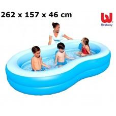 Bazén BESTWAY Lagoon 262 x 157 x 46 cm (54117) Preview