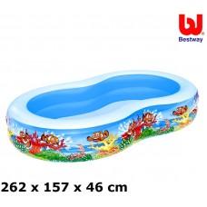 Bazén Bestway 54118 morská lagúna 262x157x46 cm Preview