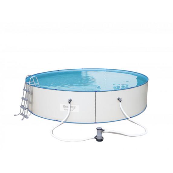 BESTWAY Hydrium rodinný oceľový bazén 460 x 90 cm + kartušová filtrácia 56386