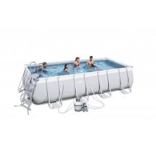 BESTWAY bazén PowerSteel 488x274x122 s pieskovou filtráciou 56390 Preview