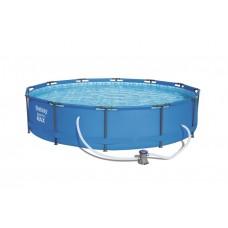 BESTWAY Steel Pro Frame rodinný bazén 366 x 76 cm + kartušová filtrácia 56416 Preview