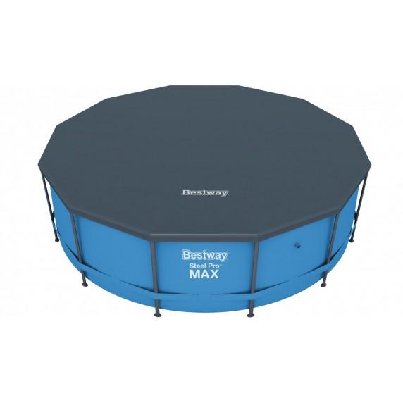 BESTWAY bazén SteelPro Max 366x122 cm s kartušovou filtráciou 56420