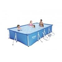 BESTWAY bazén SteelPro 400x211x81cm s kartušovou filtráciou 56424