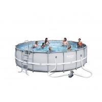 BESTWAY bazén PowerSteel 549x132 cm s kartušovou filtráciou 56427