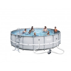 BESTWAY bazén PowerSteel 549x132 cm s kartušovou filtráciou 56427 Preview
