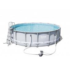 BESTWAY bazén PowerSteel 488x122 6v1 s kartušovou filtráciou 56451 Preview