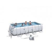 BESTWAY bazén PowerSteel 549x274x122cm s pieskovou filtráciou 56466