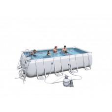 BESTWAY bazén PowerSteel 549x274x122cm s pieskovou filtráciou 56466 Preview