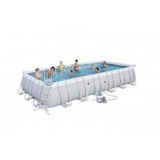 BESTWAY bazén PowerSteel 732x366x132 cm s pieskovou filtráciou 56475 Preview