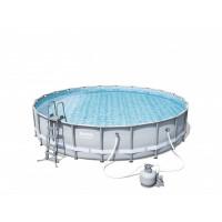 BESTWAY bazén PowerSteel 671x132cm s pieskovou filtráciou 56634