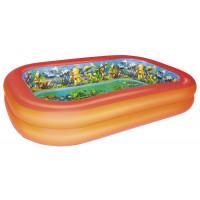 BESTWAY detský bazén POTÁPAČI 3D 262 x 175 x 51 cm 54114