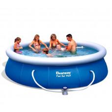 BESTWAY Fast Set samonosný rodinný bazén s kartušovou filtráciou 457 x 91 cm 57124 Preview