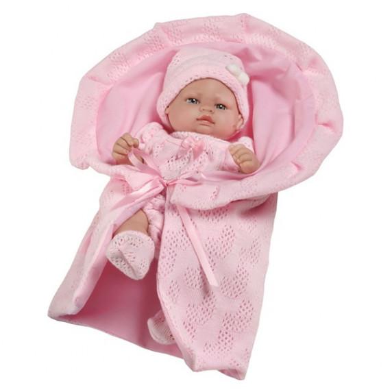 Luxusná detská bábika-bábätko Berbesa Valentina 28 cm