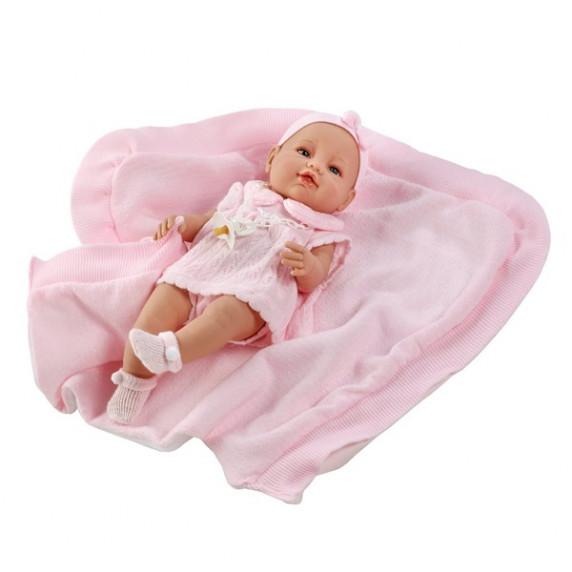 Berbesa luxusná detská bábika-bábätko Ema 39 cm