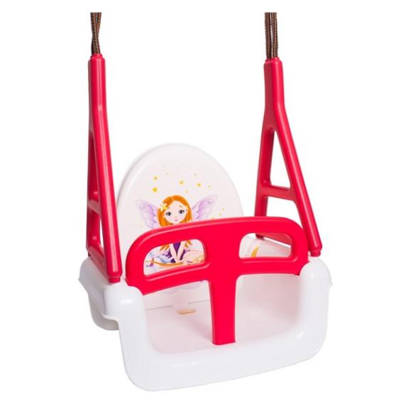 Tega Princess detská hojdačka 3v1- biela
