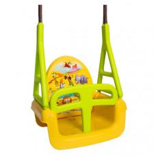 Tega Safari detská hojdačka 3v1 - žltá Preview