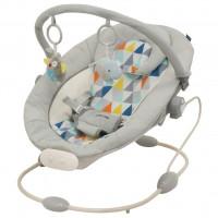 Baby Mix Detské lehátko svetlo sivé