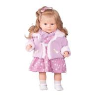 Berbesa luxusná hovoriaca detská bábika Kristína 52 cm