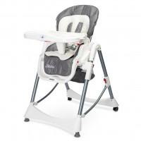 Jedálenská stolička CARETERO Bistro 2019 sivá