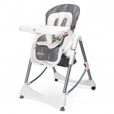 Jedálenská stolička CARETERO Bistro 2019 sivá Preview