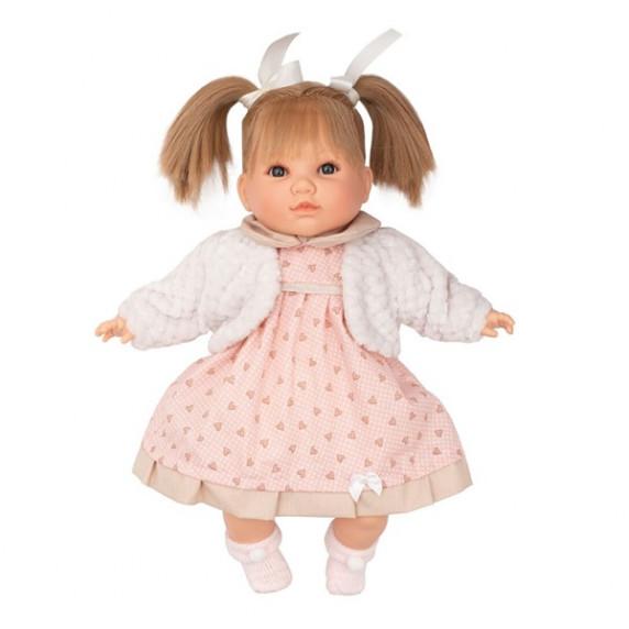 Berbesa luxusná hovoriaca detská bábika Natálka 40 cm