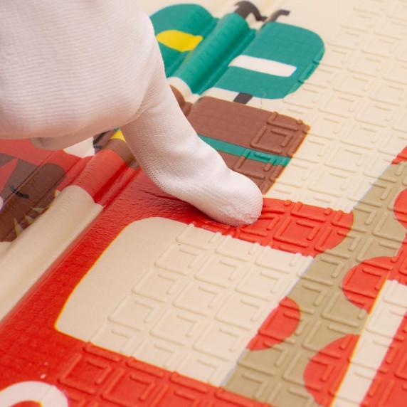 PlayTo Multifunkčná skladacia hracia podložka - London