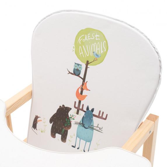 Borovicová stolička Drewex Antonín Animals - prírodná