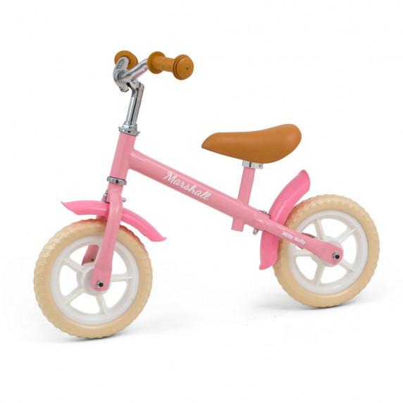 """Milly Mally Marshall detské cykloodrážadlo 10"""" - Ružové"""