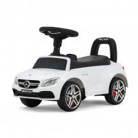 Detské odrážadlo Mercedes Benz AMG C63 Coupe Milly Mally - biele