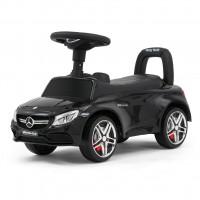 Detské odrážadlo Mercedes Benz AMG C63 Coupe Milly Mally - čierne