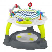 Baby Mix Multifunkčný stolček - Zeleno-sivý