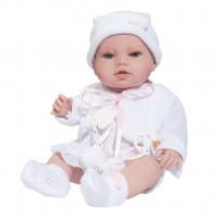 Luxusná detská bábika-bábätko Berbesa Terezka 43cm