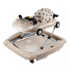 New Baby detské chodítko s hojdačkou a silikónovými kolieskami Little Racing Car Preview